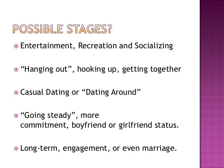 Dating and mate selection sociology
