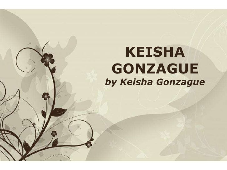Free Powerpoint Templates KEISHA GONZAGUE by Keisha Gonzague