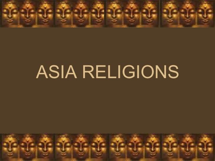 ASIA RELIGIONS