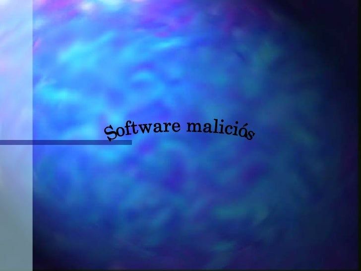 Software maliciós