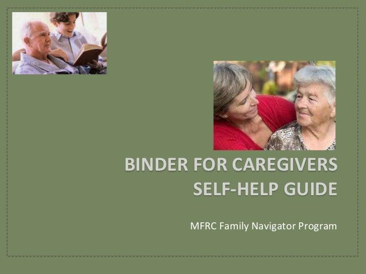 Caregiver Binder