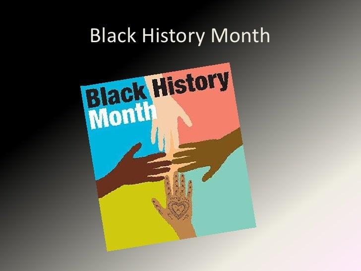 CI 102: Black History Month
