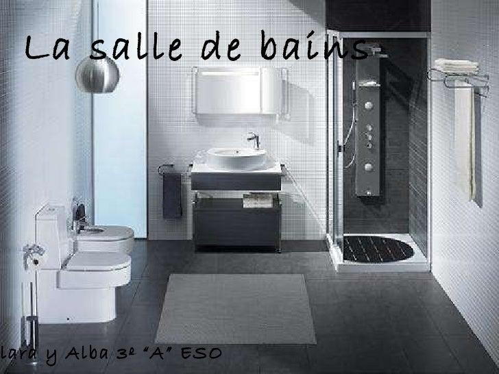 """La salle de bains Clara y Alba 3º """"A"""" ESO"""