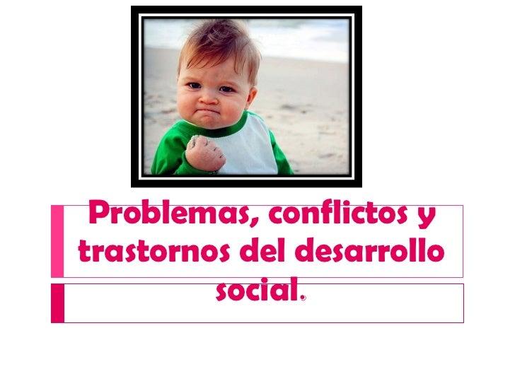 Conflictos infantiles