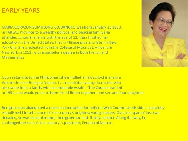 "health program of cory aquino He met his benefactress cory aquino at the st to live a life worthy of ninoy aquino who said, ""the filipino is worth a health program of."