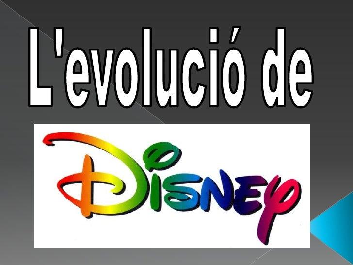 L'evolució de<br />