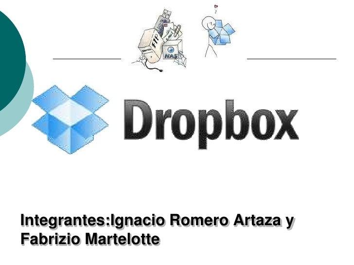 Integrantes:Ignacio Romero Artaza yFabrizio Martelotte