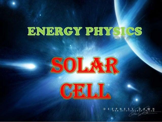 Power point energy physics.