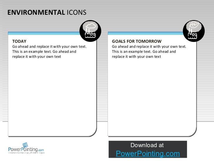 Powerpoint Environmental Icons