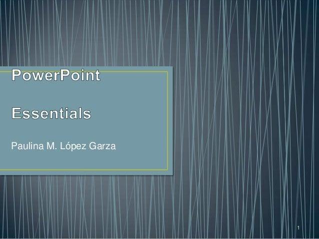 Power point essentials