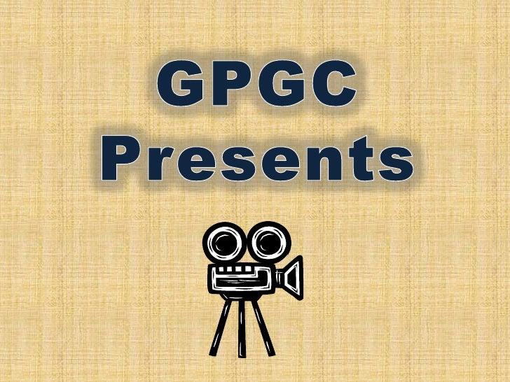 GPGC Presents<br />