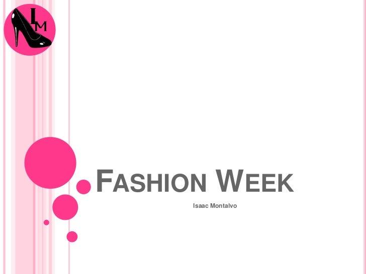Powerpoint Final Fashion Week