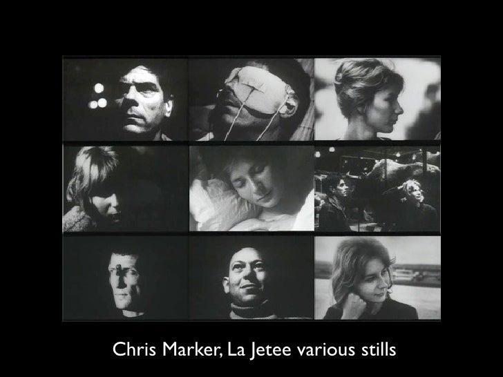 Chris Marker, La Jetee various stills