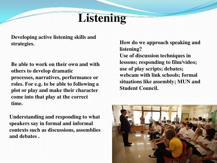listening and responding 3 listening and responding the aim of this session is to: increase knowledge about listening and responding, and to advance skills.