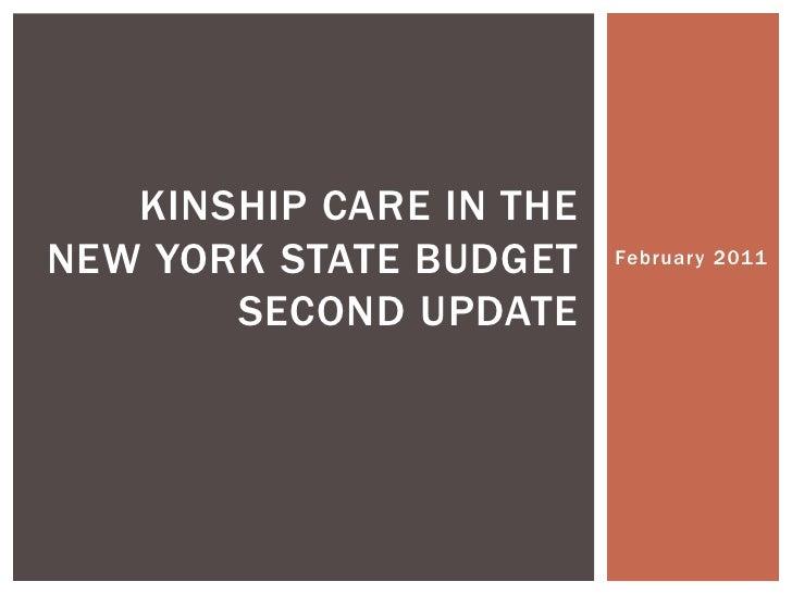 February 17th Webinar Update