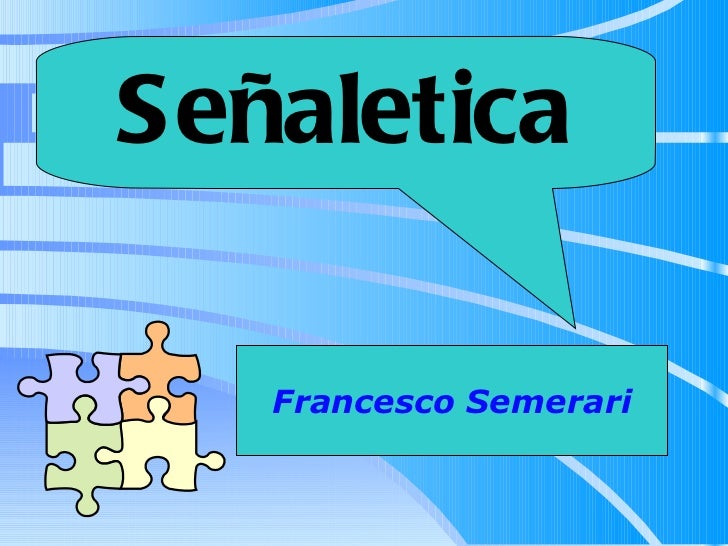 Señaletica Francesco Semerari