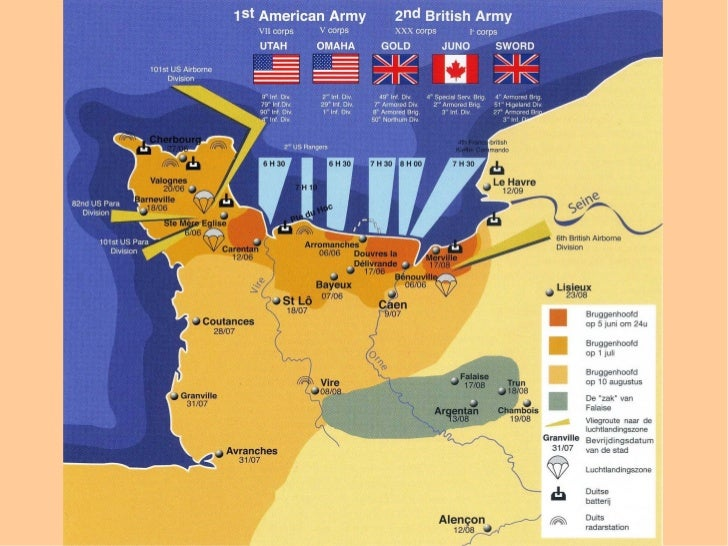 Spreekbeurt D-day Normandie Jillian Hannink groep8