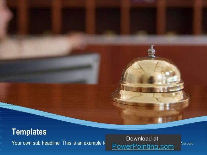 Powerpoint Hotel Bell