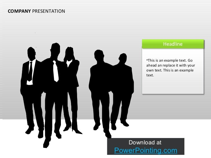 COMPANY  PRESENTATION <ul><li>This is an example text. Go ahead an replace it with your own text. This is an example text....