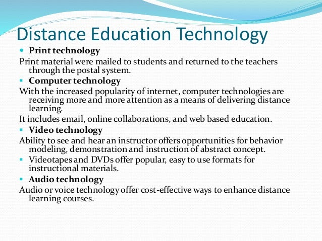 Do you think distance-learning program is better than the traditional way of education?