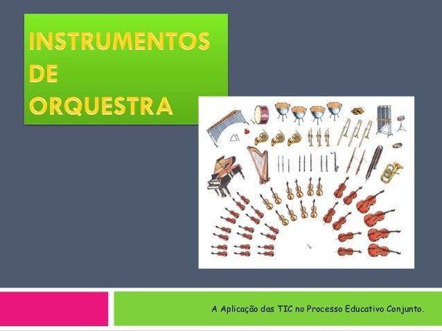 A Aplicação das TIC no Processo Educativo Conjunto.