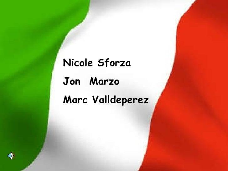 Nicole Sforza Jon  Marzo Marc Valldeperez