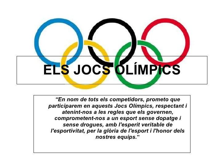 Power Point Jocs OlíMpics