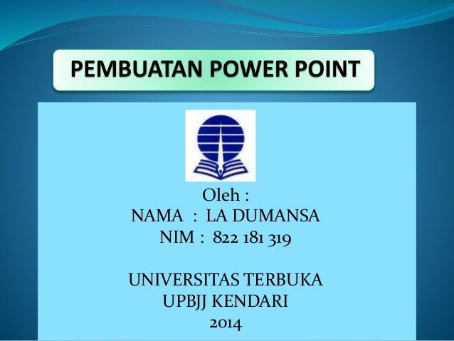 Power point la damunsa