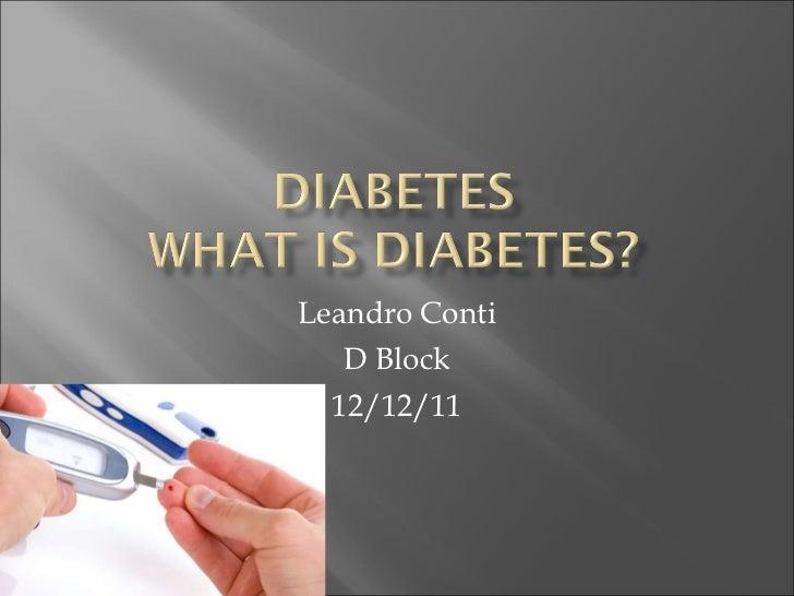 Leandro Conti D Block 12/12/11