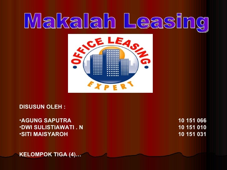 Power point leasing