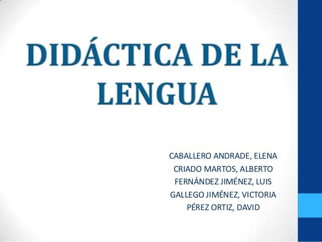 CABALLERO ANDRADE, ELENACRIADO MARTOS, ALBERTOFERNÁNDEZ JIMÉNEZ, LUISGALLEGO JIMÉNEZ, VICTORIAPÉREZ ORTIZ, DAVID