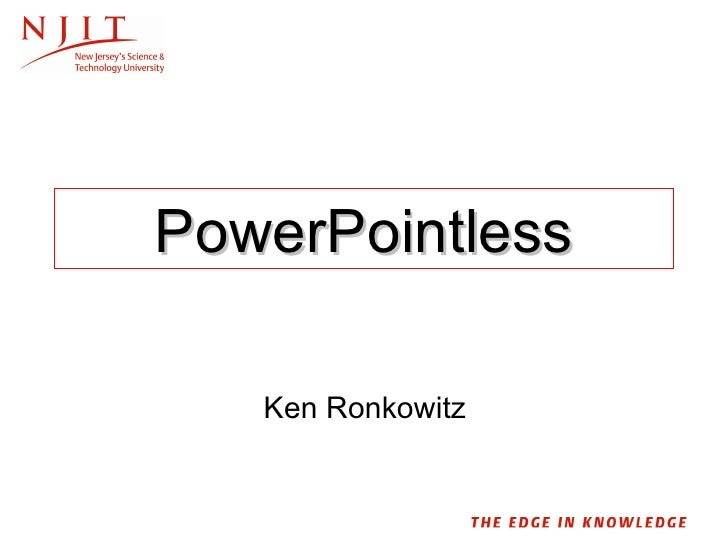 PowerPointless