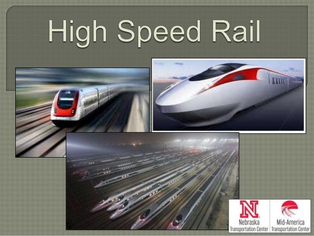 Transportation that uses electric trains that can travel at very high speeds Provides a friendlier alternative than comm...