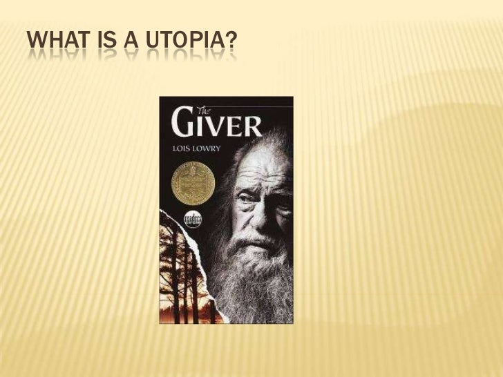 What is a Utopia?<br />