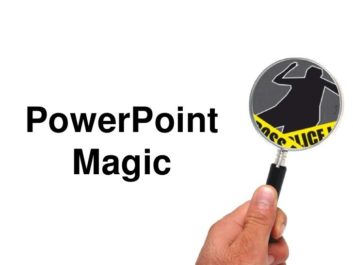 Power Point Magic   Cut Outs