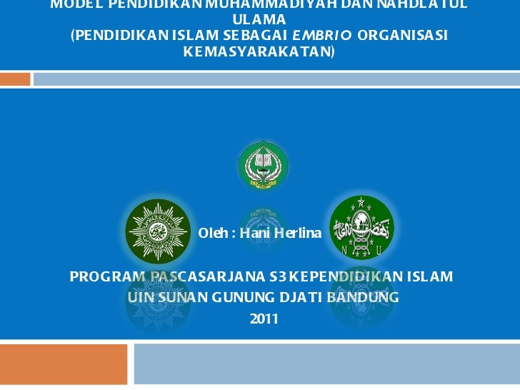 Power point makalah muhammadiyah dan nu