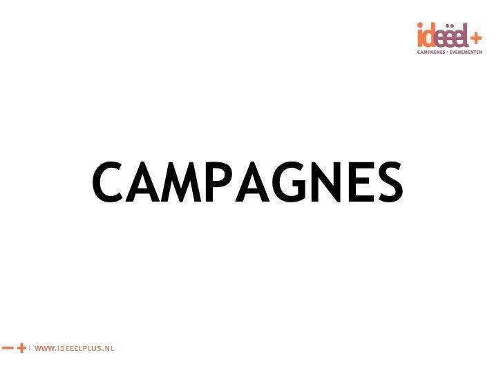 Democracy in Action Campagnes
