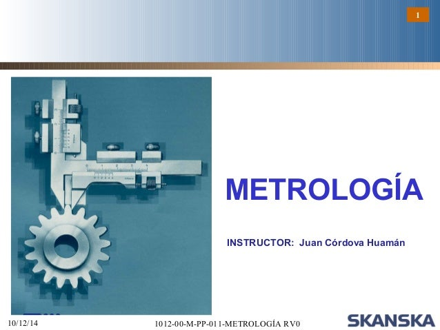 Curso de metrologia online