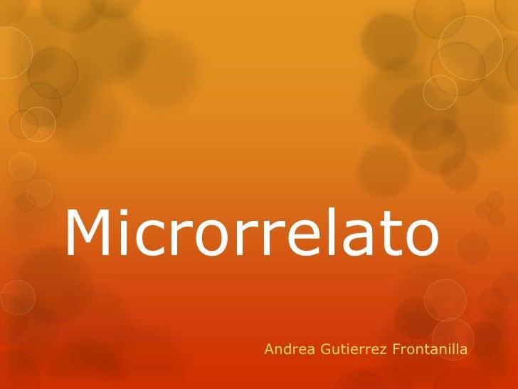Power point microrrelatos