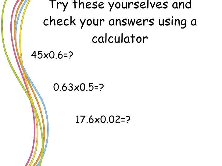 Dividing decimals word problems ks2