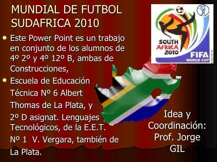 Power point mundial afiches y estadios present