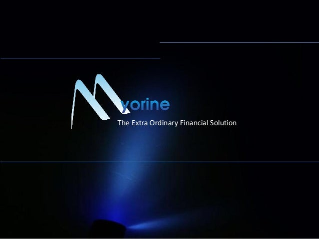 The Extra Ordinary Financial Solution