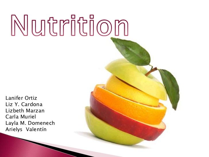 Power point nutrition[1]