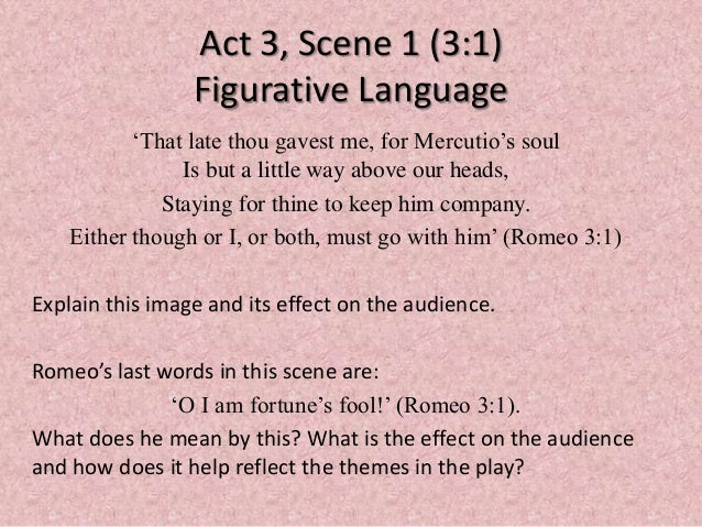 this is a pivotal scene in the play act 3 scene 3 essay Acts and scenes an act is a part of a play defined by elements such as rising action, climax and resolution a scene (drama) is a part of an act defined with the changing of characters to be in a three-act play.