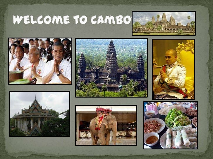Power point of cambodia