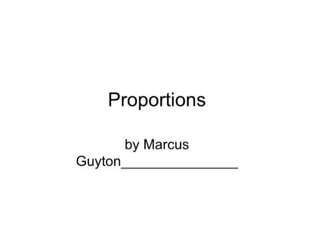 Power point of proprotions