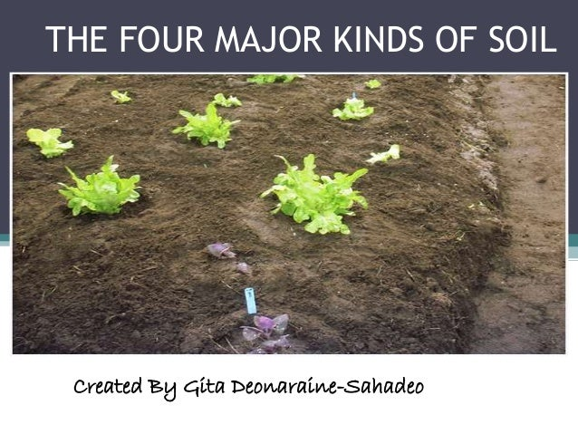 Power point of the four kinds of soil for Different types of soil and their uses