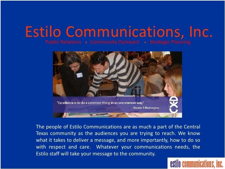 Estilo Communications