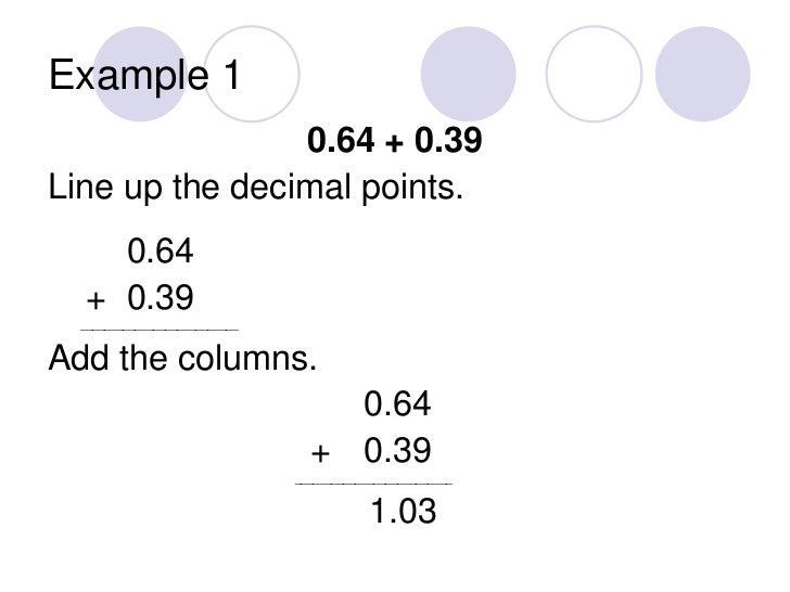 Addition Addition And Subtraction Decimals Worksheet Free Math – Adding Decimal Worksheet