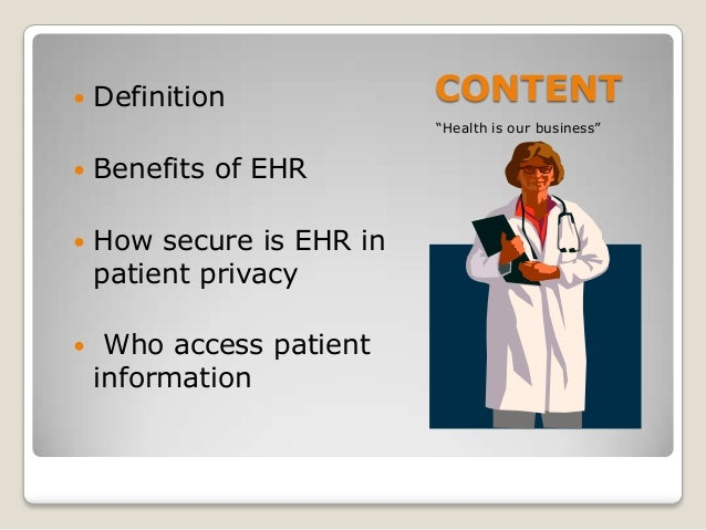 electronic health records 2 essay Ehr implementation and effects on nursing of electronic health records of an electronic health record (ehr) system essay - did you ever think.